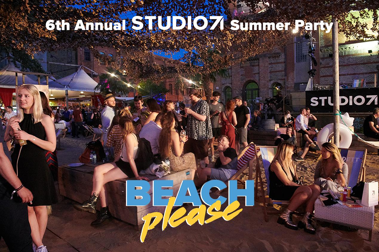 BEACH please! Das Sommerfest von Studio71